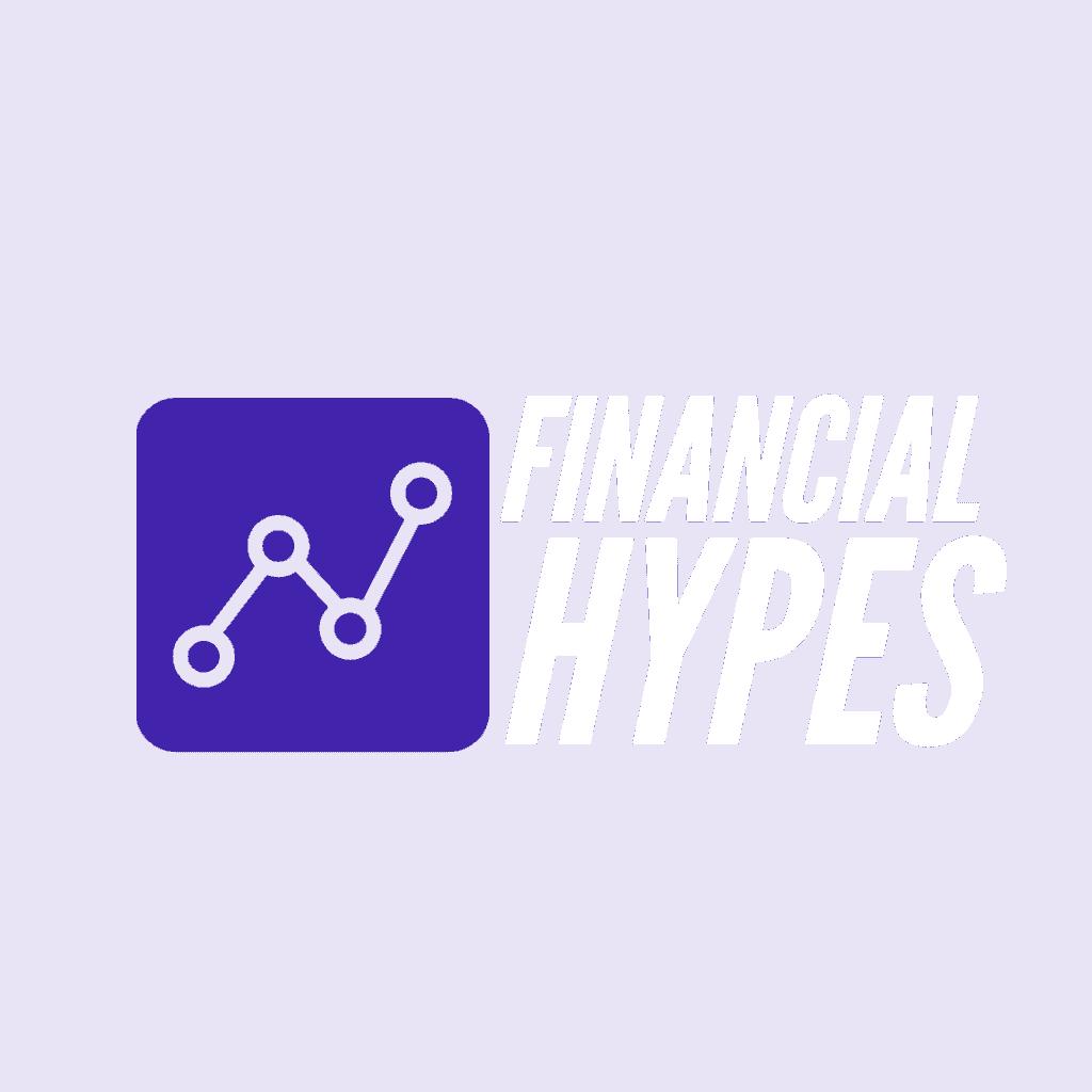 Logo Financialhypes Weiß Blau